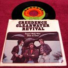 Creedence Clearwater Revival * SWEET HITCH-HIKER * Original 45rpm with Picture Sleeve 1971 Mint