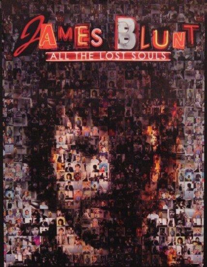 James Blunt ALL THE LOST SOULS Original Poster 2' x 3' Rare 2007