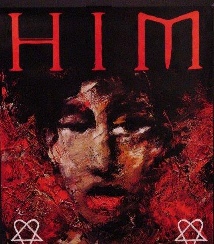 Him * VENUS DOOM * Original Poster 2' x 2' Rare 2007 MINT