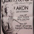 Gwen Stefani * SWEET ESCAPE TOUR * Original Concert Poster 2' x 3' Rare 2007 Mint