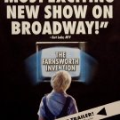 THE FARNSWORTH INVENTION Original Broadway Poster * Hank Azaria * 2' x 3' Rare 2007