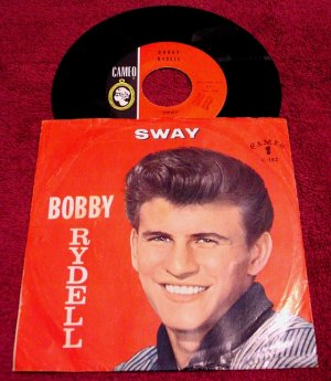 Bobby Rydell Original 45rpm * SWAY & GROOVY TONIGHT * with Picture Sleeve 1960 MINT+