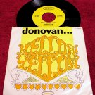 Donovan Original 45rpm * MELLOW YELLOW * with Picture Sleeve Rare 1966 Mint