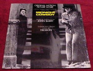 Midnight Cowboy Original Film Soundtrack LP with Shrinkwrap 1969 Mint