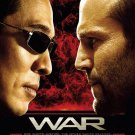 WAR Original Movie Poster * JET LI & STATHAM * HUGE 4' x 6' Rare 2007 MINT