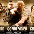 THE CONDEMNED Original Movie Poster SET * STONE COLD Steve Austin * Huge 4' x 6' Rare 2007 Mint