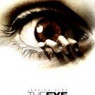 THE EYE Original Movie Poster * JESSICA ALBA * Huge 4' x 6' Rare 2008 Mint