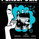 "Satrapi's PERSEPOLIS Original Movie Poster * Catherine Deneuve * 27"" x 40"" Rare 2007 Mint"
