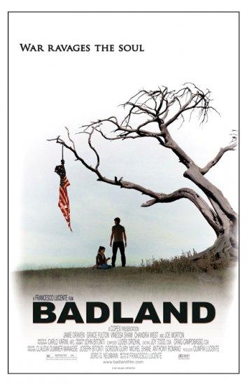 "BADLAND Original Movie Poster * JAMIE DRAVEN * 27"" x 40"" Rare 2007 Mint"
