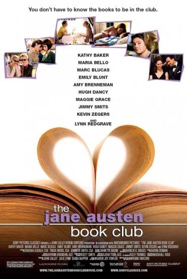 "THE JANE AUSTEN BOOK CLUB Original Movie Poster * EMILY BLUNT * 27"" x 40"" Rare 2007 Mint"