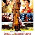 CURSE OF THE GOLDEN FLOWER Original Movie Poster * GONG LI & CHEN JI * Huge 3' x 4' Rare 2006 MINT