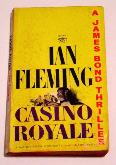 Casino Royale * JAMES BOND * Ian Fleming 1963 7th Edition Signet PB
