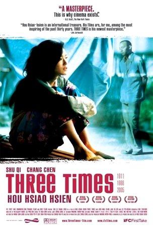 "Hou Hsiao-hsien's THREE TIMES Original Movie Poster SHU QI 27"" x 40"" Rare 2006 Mint"