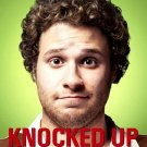 KNOCKED UP Original Movie Poster * KATHERINE HEIGI & SETH ROGEN * Huge 4' x 6' Rare 2007 Mint