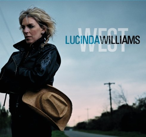 Lucinda Williams * WEST * Music Poster 2' x 3' Rare 2007 NEW