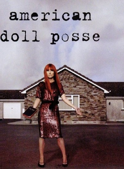 Tori Amos AMERICAN DOLL POSSE Music Poster 2' x 3' Rare 2007 NEW