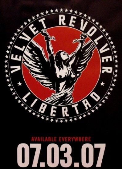 Velvet Revolver * LIBERTAD * Music Poster 2' x 3' NEW 2007