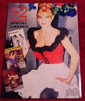 ZOOM French Art Magazine * Nudes ~ Lingerie & Pin up History ~ Bardot * Rare 1990 Mint