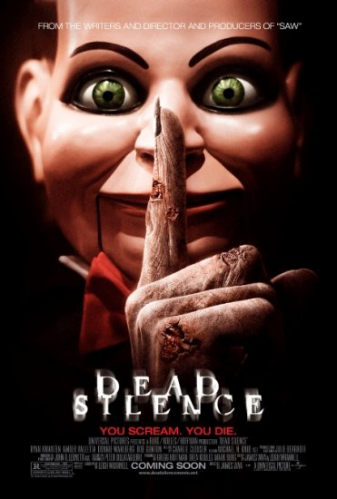 DEAD SILENCE Movie Poster 4' x 6' Rare 2007 NEW