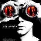 DISTURBIA Movie Poster 4' x 6' Rare 2007 NEW