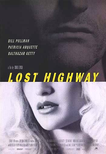 "David Lynch's LOST HIGHWAY Movie Poster * PATRICIA ARQUETTE * 27"" x 40"" Rare 1997 NEW"