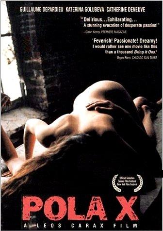 "Leos Carax's POLA X Movie Poster * CATHERINE DENEUVE * 27"" x 40"" Rare 1999 NEW"