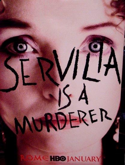 ROME Movie Poster * SERVILIA * 4' x 6' HBO Rare 2007 NEW