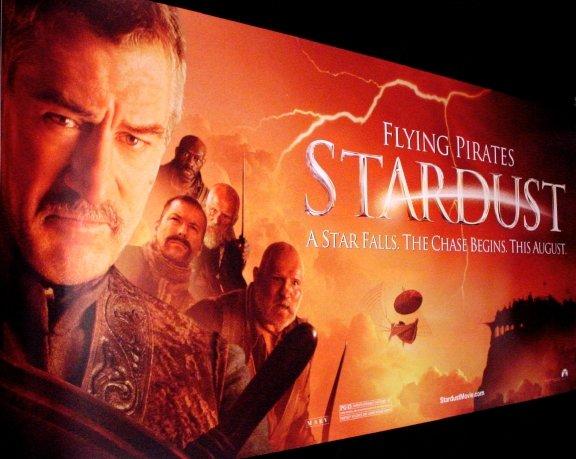 STARDUST Movie Poster ROBERT DeNIRO  3' x 6' Rare 2007 NEW