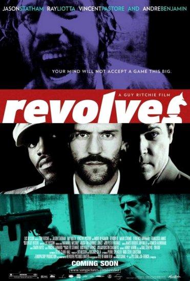 """Ritchie's REVOLVER Movie Poster * JASON STATHAM * 27""""x 40"""" Rare 2007 NEW"""