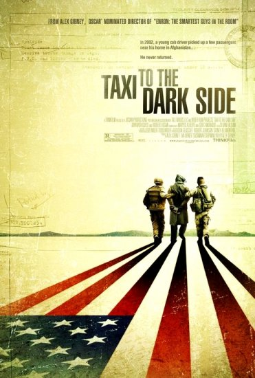 """Alex Gibney's TAXI TO THE DARK SIDE Movie Poster 27""""x 40"""" Rare 2007 NEW"""