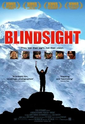 "Lucy Walker's BLINDSIGHT Movie Poster 27""x 40"" Rare 2008 NEW"
