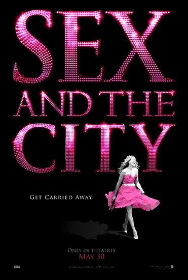 """SEX AND THE CITY Movie Poster * SARA JESSICA PARKER * 27""""x 40"""" Rare 2008 NEW"""