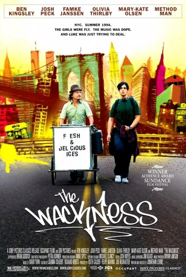 "THE WACKNESS Movie Poster * BEN KINGSLEY * 27""x 40"" Rare 2008 NEW"