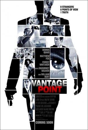 VANTAGE POINT Movie Poster * MATTHEW FOX * 4' x 6' Rare 2008 NEW
