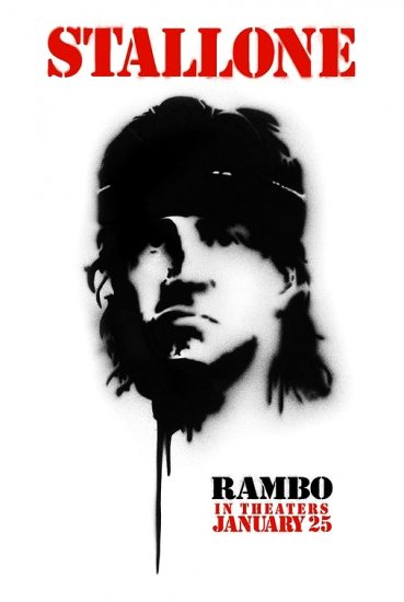 RAMBO 4 Movie Poster * SYLVESTER STALLONE * 4' x 6' Rare 2008 NEW