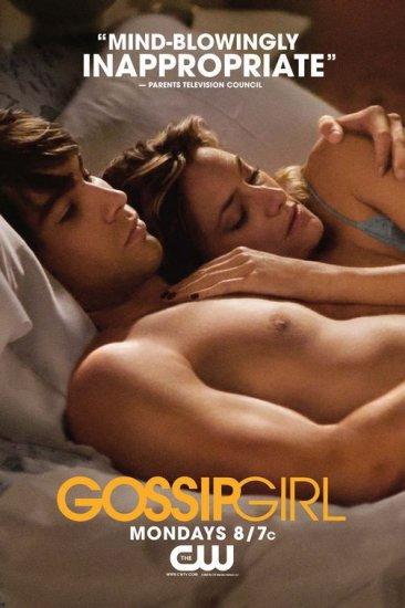 Ziegesar's GOSSIP GIRL Original Poster * Chace Crawford * CW 2' x 3' Rare 2008 NEW