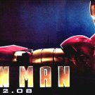 IRON MAN Movie Poster * ROBERT DOWNEY JR. * 3' x 6' Rare 2008 NEW