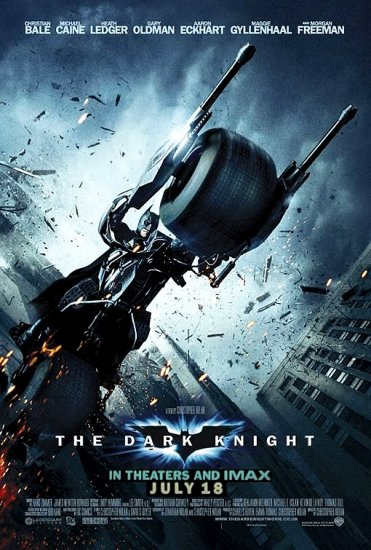 DARK KNIGHT Movie Poster * CHRISTIAN BALE * 2' x 4' Rare 2008 NEW