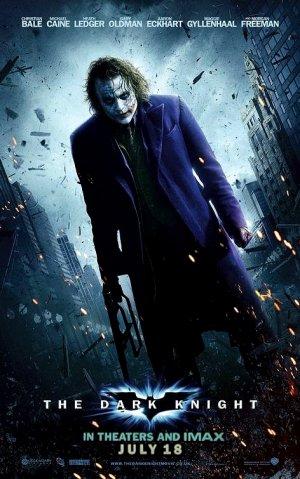 DARK KNIGHT Movie Poster * HEATH LEDGER * 2' x 4' Rare 2008 NEW