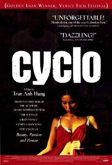 "Tran Anh Hung's CYCLO Movie Poster * LE VAN LOC & TRAN NU YEN-KHE * 27"" x 40"" Rare 1995 NEW"