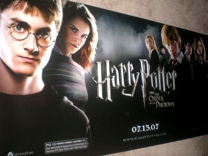 HARRY POTTER Movie Poster * ORDER OF THE PHOENIX * 3' x 6' Rare 2007 NEW
