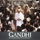 "Richard Attenborough's GANDHI Movie Poster * BEN KINGSLEY * 21"" x 30"" Rare 1982 MINT"