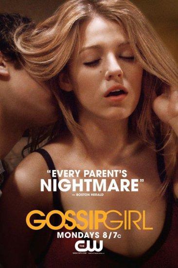 Ziegesar's GOSSIP GIRL Original Poster * Blake Lively * CW 2' x 3' Rare 2008 NEW