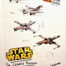 STAR WARS Poster * THE LEGACY REVEALED * History Channel 2' x 3' Rare 2007 NEW