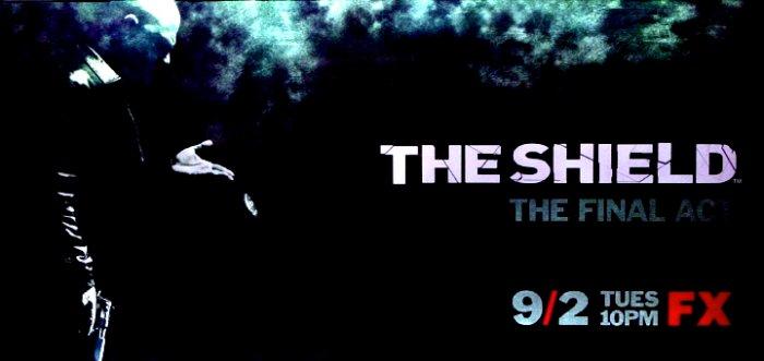 THE SHIELD Final Season Poster * MICHAEL CHIKLIS * FX 3' x 6' Rare 2008 NEW