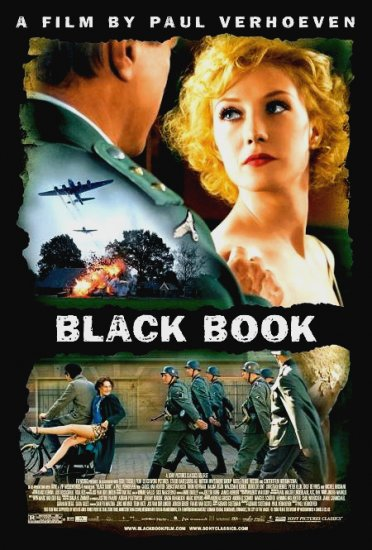 "THE BLACK BOOK Original Movie Poster * CARICE VAN HOUTEN * 27""x 40"" Rare 2007 Mint"