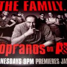 The Sopranos * THE FAMILY * Poster A&E Huge RARE 4'x 5' NEW