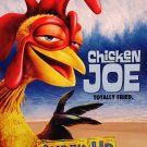 SURF's UP Original Movie Poster * Chicken Joe * Huge 4' x 6' Rare 2007 Mint