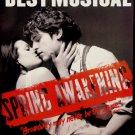 SPRING AWAKENING Original Broadway Theater Poster * Lea Michelle & Jon Groff * 3' x 4'Rare 2007 Mint