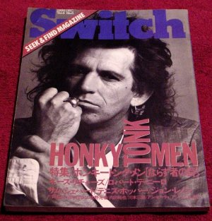 SWITCH Japan Fine Art Journal * De Niro / Warhol / Beatles * Rare 1988 Mint